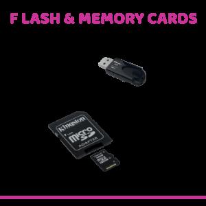 Flash & Memory Cards